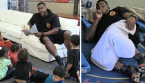 'Big Baby' Davis -- Sucks Thumb, Leads Nap Time ... At Preschool Event