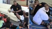 'Big Baby' Davis -- Sucks Thumb, Leads Nap Time ... At Preschool Event