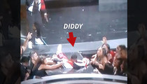 Diddy -- Hits the Stage ... Then His Ass