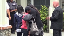 Bobbi Kristina -- Houstons and Browns Make Peace in Final Days (VIDEO)