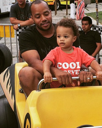 Donald Faison Shares New Pic with Adorable Lookalike Son Rocco