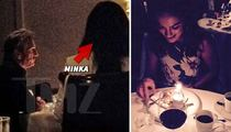 Sean Penn -- Charlize Who?  Gives Minka Kelly Birthday Dinner of a Lifetime