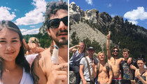 Shia LaBeouf -- Insane Patriotism At Mt. Rushmore (VIDEO)