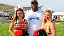 Warren Sapp -- What, Me Worry? ... Hits Fishing Tourney After Dom. Violence Charges