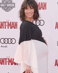 Evangeline Lilly Reveals Pregnancy at 'Ant-Man' Premiere -- See Her Big Bump!