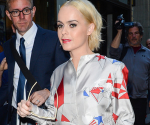 Taryn Manning Goes Platinum Blonde, Chops Hair Into Short Bob