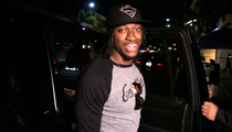 Robert Griffin III -- #IBelieve In Women's Team ... We're Good Friends Now