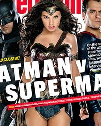 Wonder Woman Steals the Spotlight on New 'Batman v. Superman' Magazine Cover