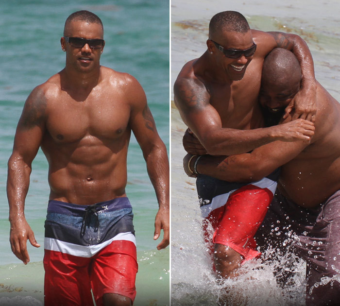 Apologise, but, Shemar moore naked on beach remarkable, rather