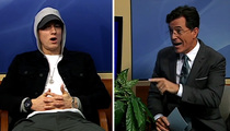 Stephen Colbert to Eminem -- I Ain't Afraid of You, Punk! (VID