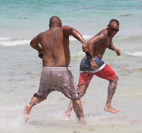 Shemar moore naked on beach opinion only