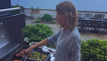 Calvin Harris -- I Got Grilled Good by Taylor Swift (PHOTO)