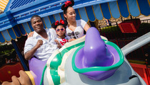 Tracy Morgan -- Fun in the Sun ... At Disney World (PHOTO)