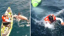 Shark vs. Man -- Who You Rootin&#0