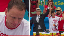 Joey Chestnut -- No Longer Top Dog ... Loses Eating Competition!!