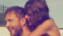 Taylor Swift Shares PDA with Calvin Harris -- More 4th of July Party Pics!