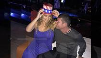 Mariah Carey and James Packer -- Celebrating Red, White and You! (PHOTO)