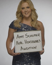 "Amy Schumer Just Nailed Her ""Real Housewives"" Audition -- See The Video!"