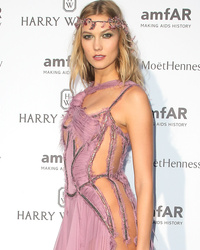 Karlie Kloss Goes Without Underwear, Shows Serious Skin at amf