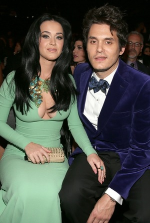 Katy Perry & John Mayer -- Together Photos