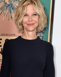 Meg Ryan Makes Extremely Rare Red C