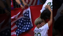 Abby Wambach -- World Cup Kiss a Huge Score fo