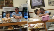 Ariana Grande -- Tongues New Boyfriend ... and an Innocent Donut!! (VIDEO)