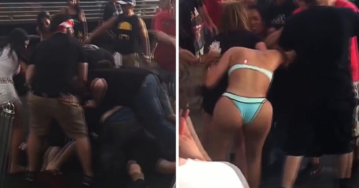 Hulk Hogans Bar Big Booty Babe In Huge Bar Fight Video Tmz Com Tmz Com Hulk Hogans Beachside Bar In Tampa Looked More Like A Wwe Style Royal