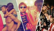 Taylor Swift -- More Calvin Harris, Gigi Hadid and Swans Than You Can Handle (TMZ TV)