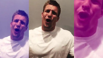 Rob Gronkowski -- Sailing to 'Gronk Island' ... For Insane Party Cruise
