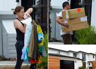 Kourtney Kardashian -- Tosses Scott's Wardrobe ... Take This Crap and Shove It!