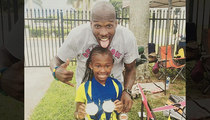 Chad Johnson -- My 10-Year-Old Daughter's a World Class Sprinter!