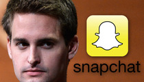 Snapchat Co-Founder Evan Spiegel -- I'm Being Stalked ... On Snapchat!