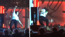 Harry Styles –- Can't Pull Out of Epic Fall On Stage (VIDEO)