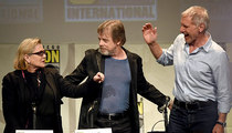 Harrison Ford at Comic-Con -- Trust Me Guys ... I Can Still Fly the Millennium Falcon (PHOTO)