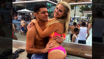 UFC's Nick Diaz -- Feelin' Cheeky In Vegas ... With Hot Bikini Lady