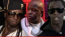 Lil Wayne -- Birdman & Young Thug Tied to Bus Shooting Plot