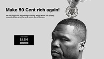 50 Cent -- Charity Case ... Fans Are Filling My Pockets Again