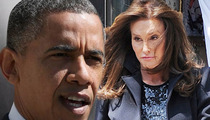 Obama to Caitlyn Jenner:  Way to Go!