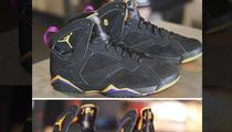 Kobe Bryant's Rare Jordan Sneaks -- Sell for $25,000