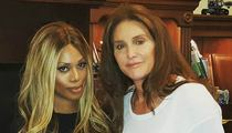Caitlyn Jenner -- Finally Face-to-Face With Laverne Cox (PHOTO)