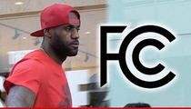 LeBron James Exposed Penis -- Triggered FCC Complaints ... 'It Ruined My Tinder Date'