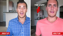 Michael Sam -- Ex-Fiance Kicks ESPY Out of the House
