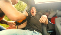 Chainsaw Attack Scares Crap Out of Sleeping Guy (VIDEO)