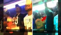 Meek Mill and Nicki Minaj -- Storming into Famous Strip Club (VIDEO)