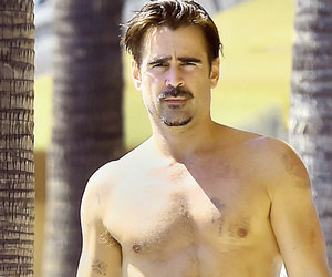 Colin Farrell Flaunts Shirtless Physique After Gaining (and Then Losing) Weight for 'True Detective'