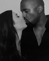 Kim Kardashian Shares Adorable Family Photos with North and a Smiling Kanye West