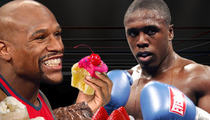 Floyd Mayweather -- ON THE FAT KID DIET ... For Berto Fight
