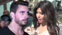 Kourtney Kardashian -- I Want Joint Custody ... For the Kids' Sake