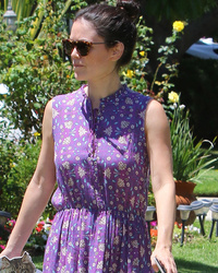 Rachel Bilson Shows Off Super Slim Waist In Rare Sighting